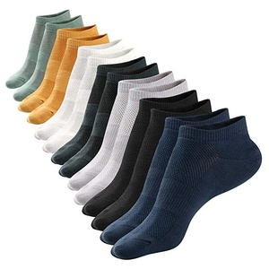 Non-slid Mesh Cotton Low Cut Ankle Breathable 8 PACK Mens Socks