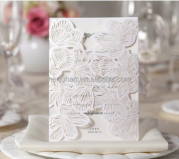 Wedding Gift Bags Card Factory : Wedding Card Laser Die Cut Wedding Invitation Card - Buy Wedding ...