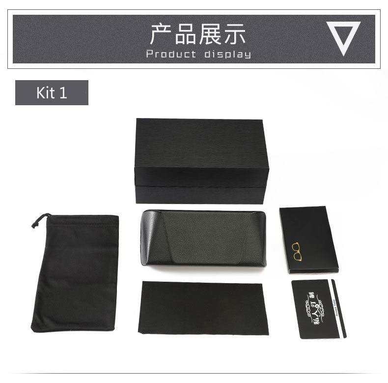 HJ Wholesale New Design Custom Hard Protective Eyewear Box Eyewear Package Case Sunglass Paper Box Customized Bags Optical Case