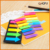 OEM fluorescent PET sticky notes index flags indicator label office index