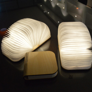 Shenzhen folding book lamp best creative technology handmade first communion business company gifts