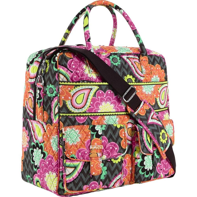 47a05f441f Vera Bradley Sport Duffel bag w  yoga mat pocket! New Olivia Pin US  49.95. Vera  Bradley Grand Cargo Bag