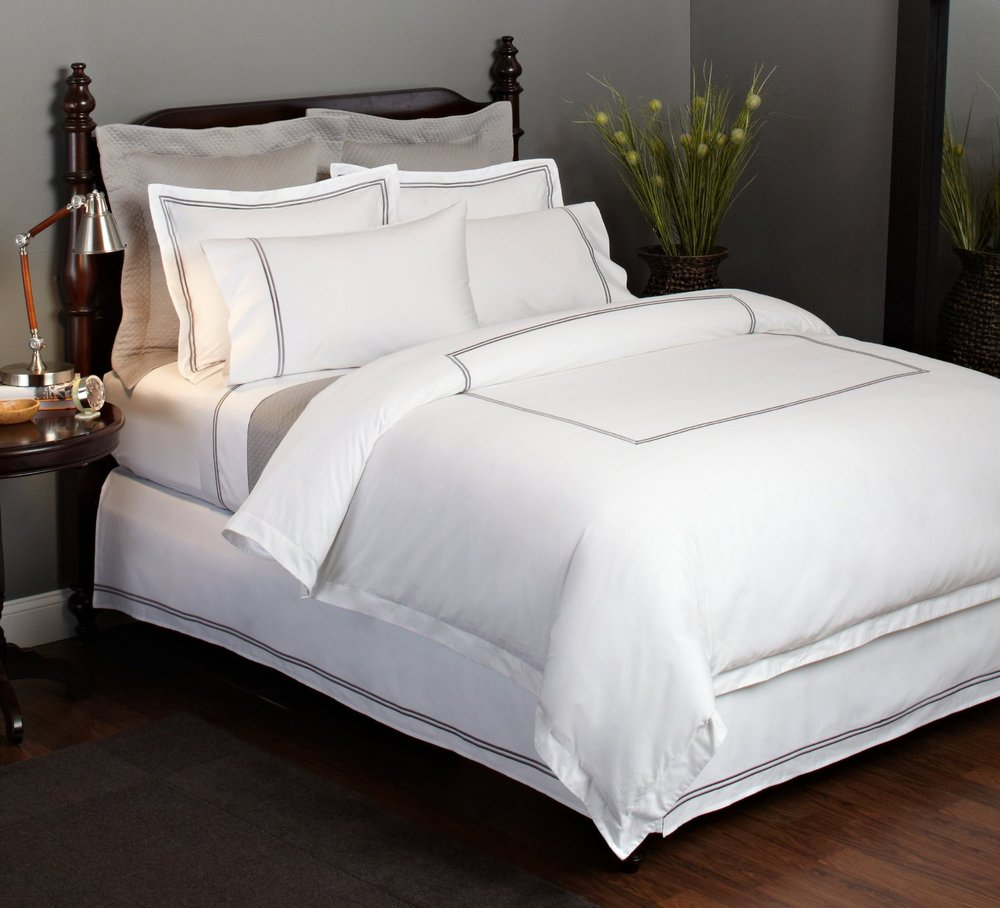 Hotel Use Polyester Cotton Queen Bed