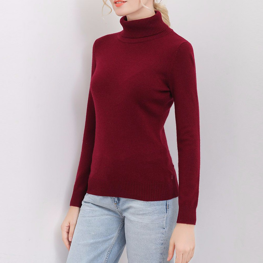 100% cashmere from Inner mongolia women cashmere sweater