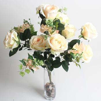 Pas Cher En Plastique Fleur Bureau Decor Fleur Artificielle Bouquet
