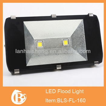 160w High Output 3200k Warm White Led Outdoor Flood Light 3-prong ...