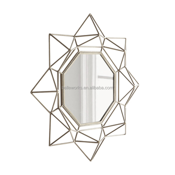Belleworks Elegant Metal Wall Mirrors Home Decor