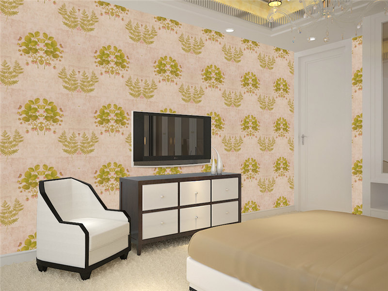 Design Wallpaper Home/hotel Wallpaper Rolls Price Non Woven Bedroom Living  Room Decorative Wall