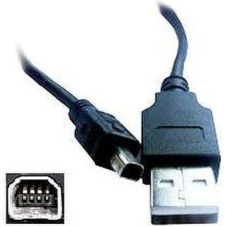 USB Cable Kodak Easyshare CX6330 Easyshare CX7525 Data Cable Black