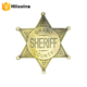 wholesale badges and custom pin badge customized sheriff star badge