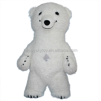 2.5m inflatable Polar bear costume for advertising Adults Mascot costume polar bear for sale  sc 1 st  Wholesale Alibaba & 2.5m Inflatable Polar Bear Costume For AdvertisingAdults Mascot ...