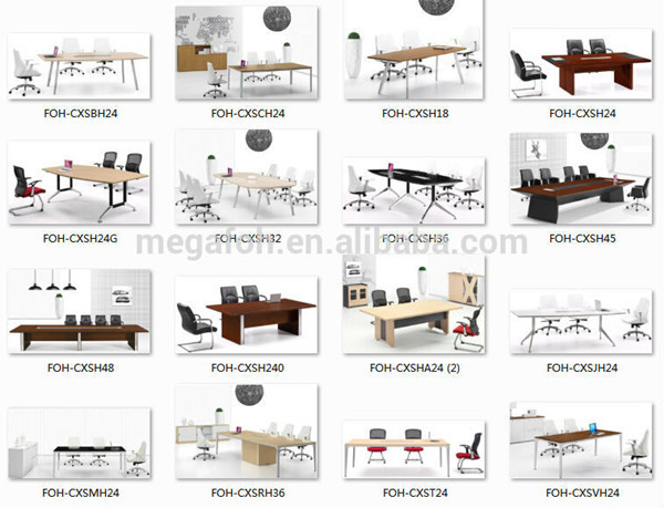 Guangzhou Office Furniture Supply Small Conference Table Sectional - Sectional conference table