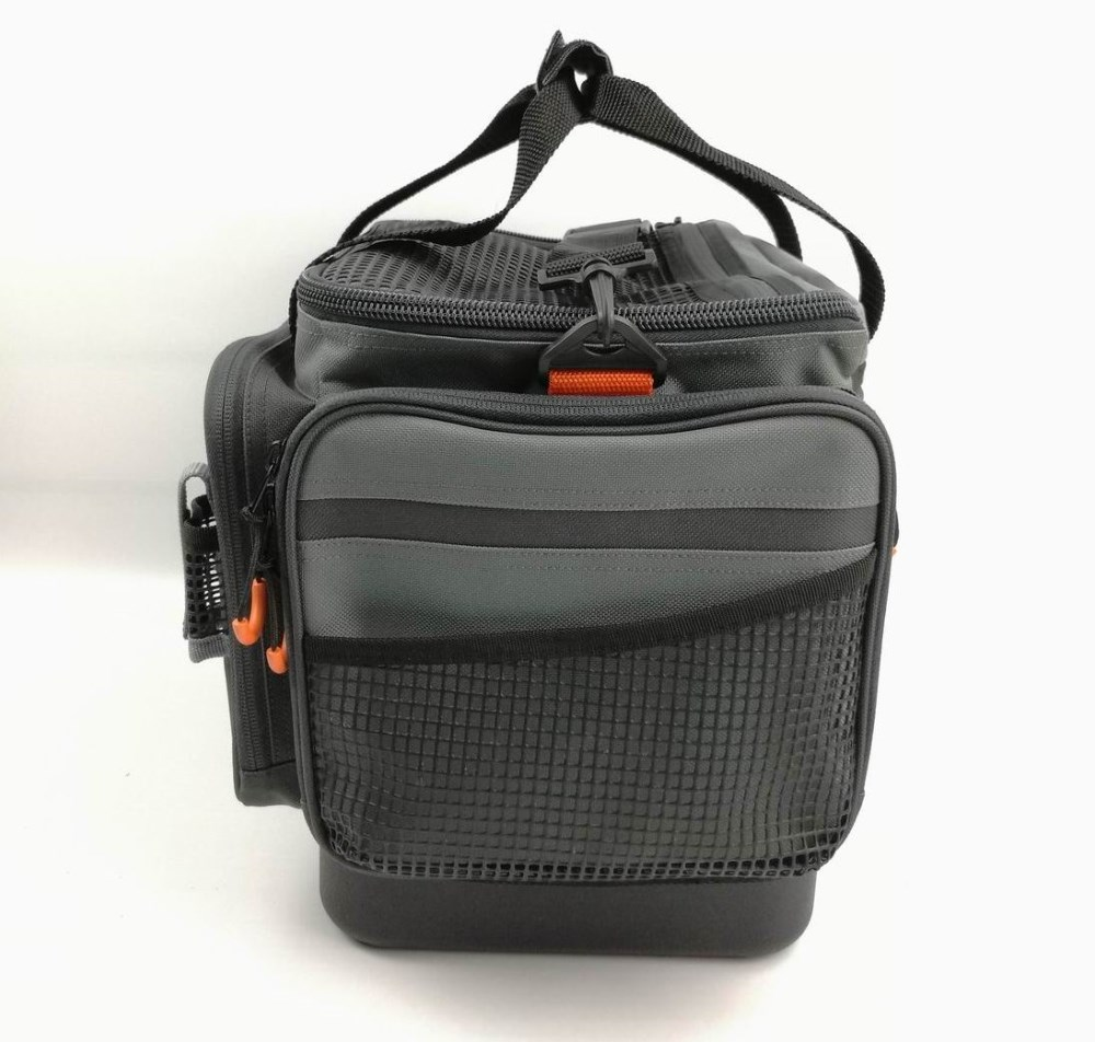 Custom 600d Polyester Fishing Tackle Bag For Fisherman ...