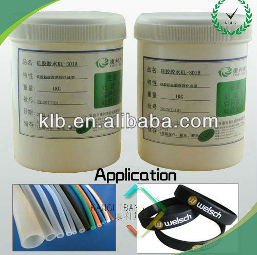 silicone clear cream glue for fabric at room tempreture