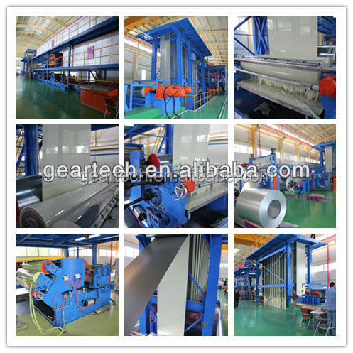 Prepainted galvanize steel coil painting machine