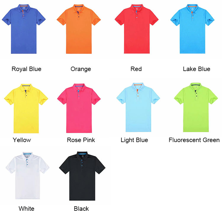Hot-Selling Summer New Men Sports T Shirt Dry Fit Polo T-Shirt for Promotion