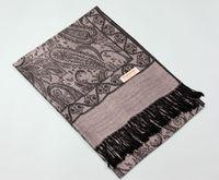 knitted black pashmina shawl TSV-006 LATEST 50% viscose+50% acrylic multicolor pamshmina scarf