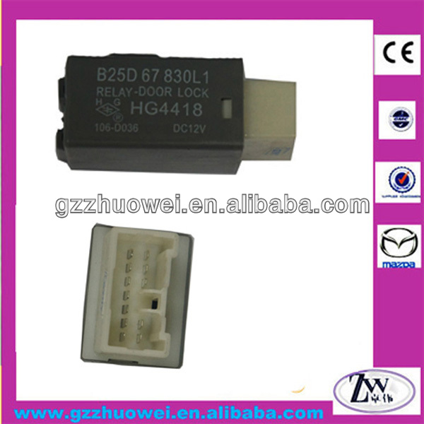 Seguridad del coche mazda 323 b2200 b2500 b2900 mx-5 relay-power door lock B25D-67-830