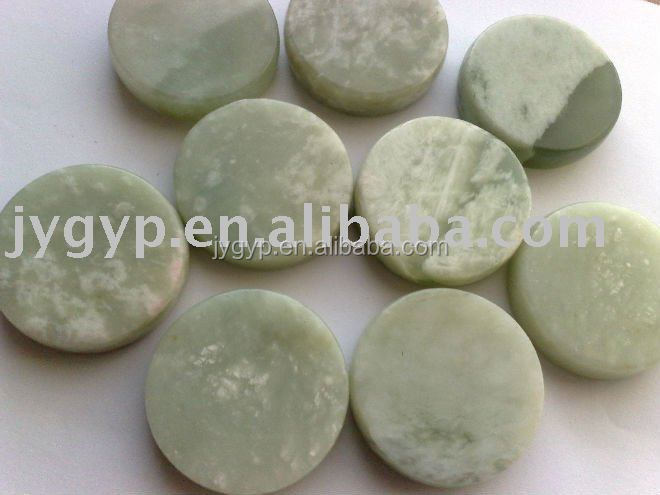 jade massager, jade coin beads for message bed