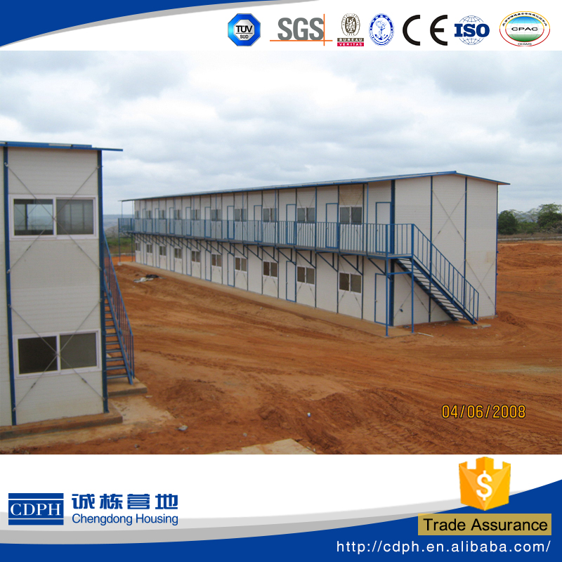 customized RIXIN series prefabricated hotel building for worker, labors