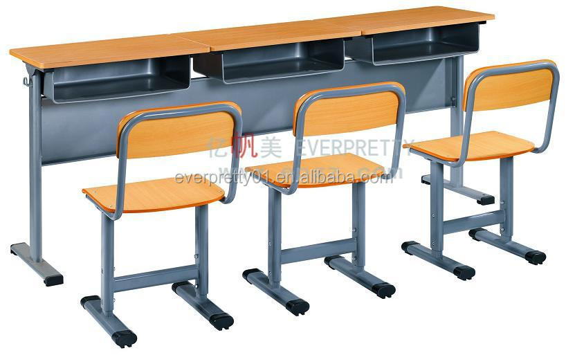 High Quality School 4 Seater Student Table Bench,School 4 Seater ...