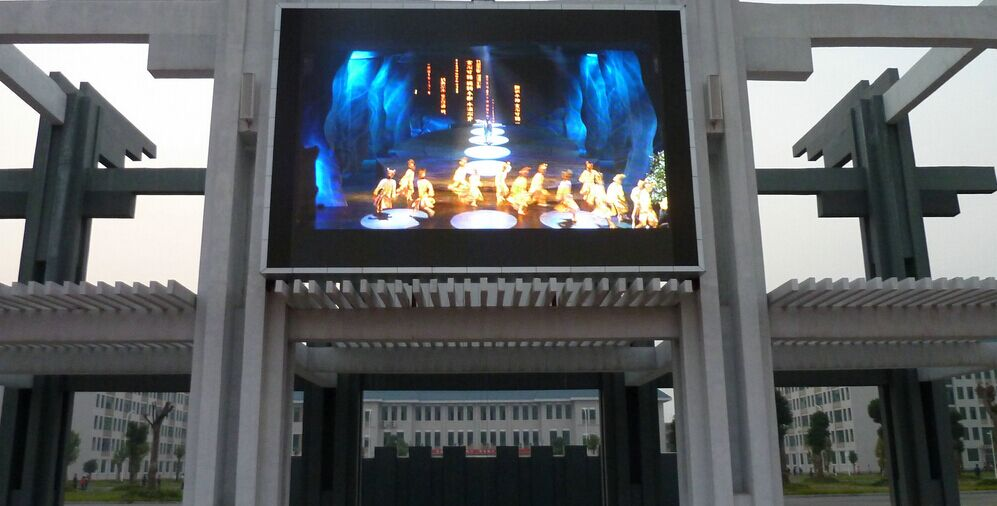 Shenzhen LED P10 Outdoor Full Color Sport Perimeter LED display Screen/LED Video Wall