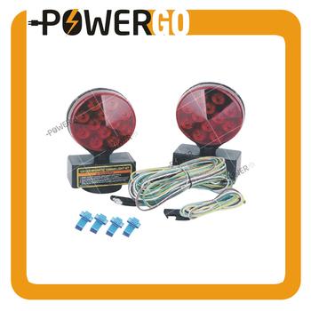 Auto 12v Magnetic Led Trailer Towing Light Kit For Camper Boat Truck Camper Trailer Wiring Harness Kit on