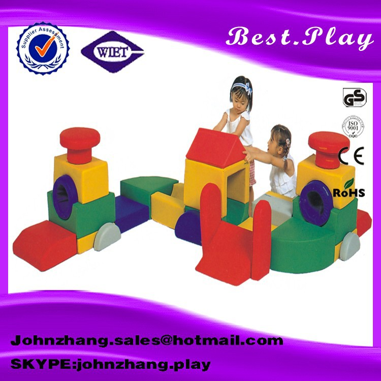 Indoor small kids soft gym for play center