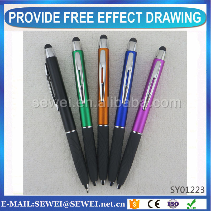Personalized metal touch pen with Certification