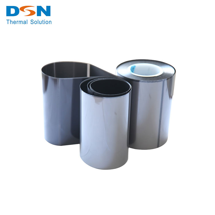 High Quality High Thermal Conductive Ultra-Thin Man-Made Graphite Tape, graphite adhesive tape