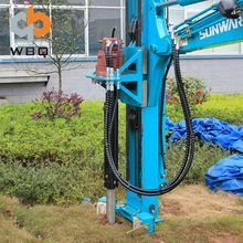 Roadside Safety Guard Rail Hydraulic Earth Hole Drilling Machine
