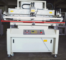 Semi-auto screen printing machine with micro registration for solar cell