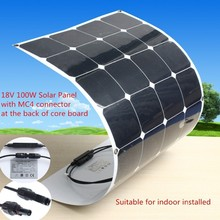 42V flexible solar panel, 100 watt flexible solar panel china supplier