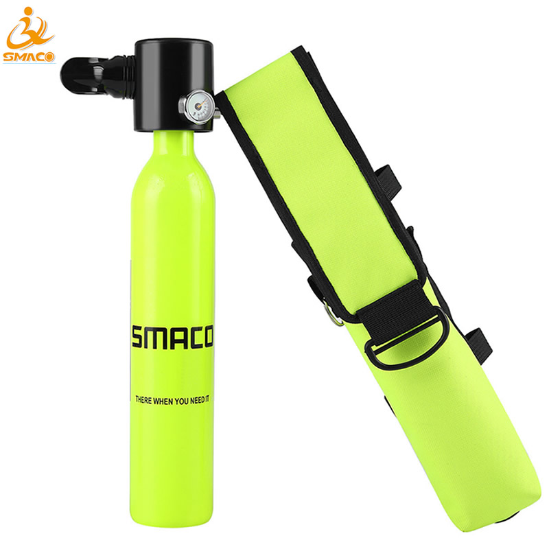 Mini Portable Diving Equipment Scuba Oxygen Air Tank Cylinder Total Freedom Breathing Equipment