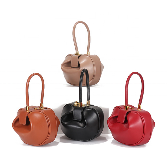 Custom Mini Wrist Bag Genuine Leather Designer Bags Women Handbags 2019 Ladies, Black,brown,red,nude