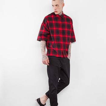 baae1909f30 Latest Design Of Half Shirt Menswear Men Clothes 2017 - Buy Latest ...