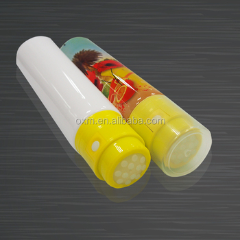 Vibratory tube used for foot hand massage