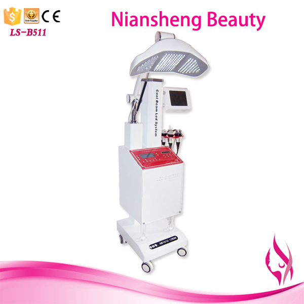 2017 new permanent hair removal and skin rejuvenation system pdt beauty machine led light therapy