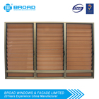 Aluminum frame louver shutter windows in hot sale from zhongshan factory