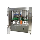 Brewmaster Approved Fully Automatic Energy Drink Canning Machine System Line / Beer Can Filling Machine for Microbrewery