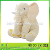 3 Color elephant pillow baby doll children sleep pillow birthday gift Lumbar Pillow Long Nose Elephant Doll Soft Plush