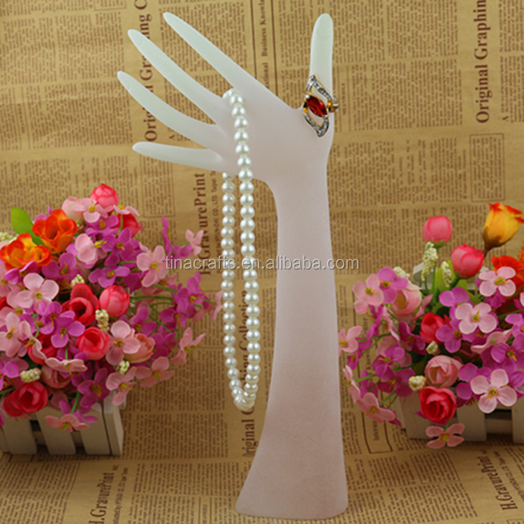 High quality resin jewelry display stand tree earrings necklace ring display holder