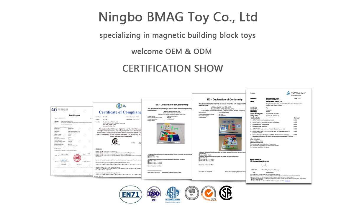 Ningbo BMAG Toy Co., Ltd. - Magnetic Block, Magnetic Toy