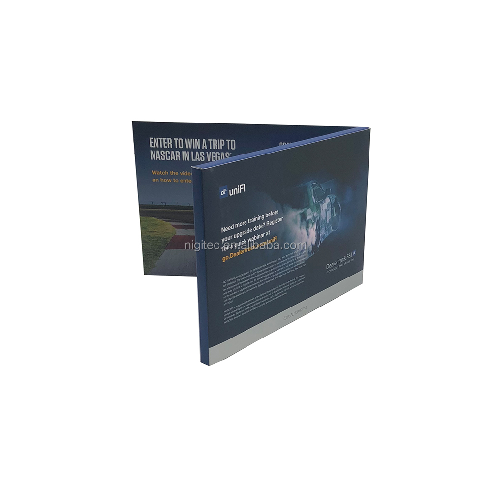 5 inch Tft-kleurenscherm Video Module Voor LCD Video Brochure, Video Catalogus