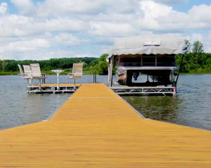 6'x8' Aluminium Boat Dock for A More Attractive, Safe And Secure Fit