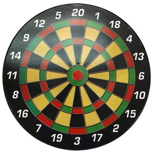 Plastic magnetic safety dartboard with 3pcs darts