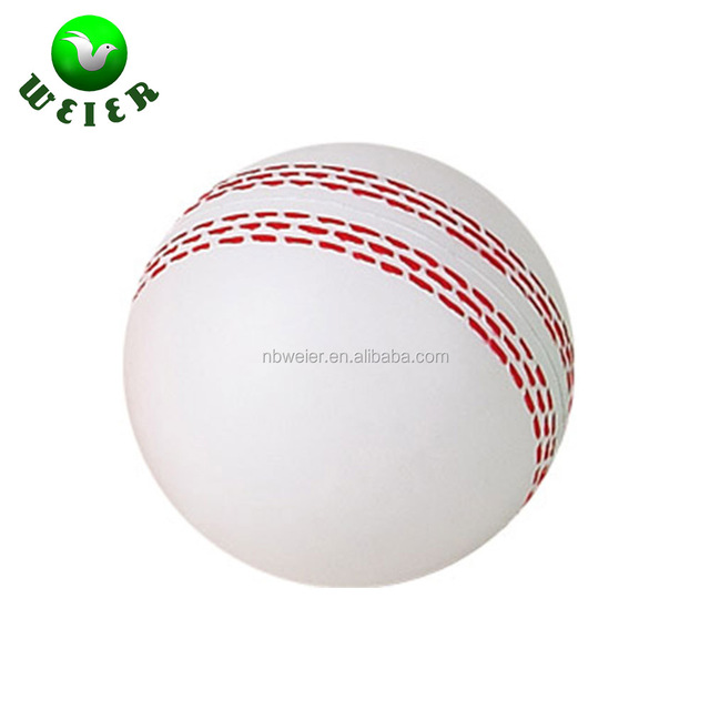 PU foam anti stress ball/dia.7cm/soft toy pu stress cricket