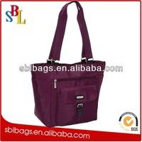Yiwu market handbag&handbag many pockets&leather flower handbag SBL-5363