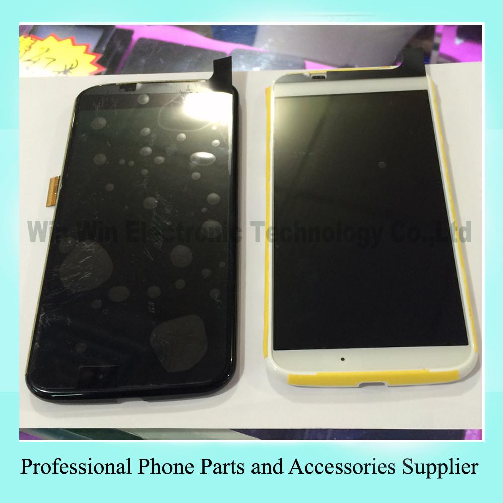Для Motorola Moto X XT1060 XT1058 XT1052 XT1053 белый / черный жк сенсорная панель экрана планшета стекло ассамблея бесплатная доставка