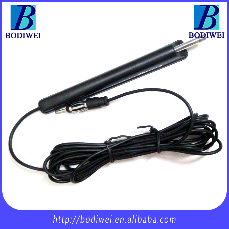 Car New FM/AM antenna radio booster aerials auto signal amp antenna